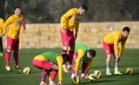 Vesti bune pentru Reghe! Steaua a scapat de blestemul accidentatilor: doar doi jucatori s-au antrenat separat astazi; Bourceanu a facut si el prima sedinta de pregatire:
