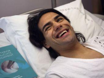 Falcao a socat pe toata lumea! Le-a cerut medicilor filmul cu operatia! Ce veste a primit dupa interventie: VIDEO
