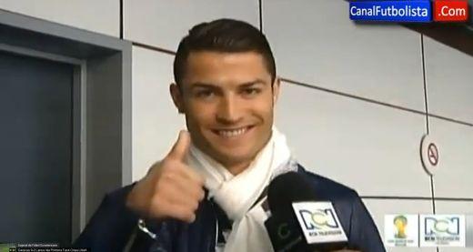 """Mesajul emotionant pentru Falcao: """"Il imbratisez!"""" Gestul de milioane de like-uri al lui Cristiano Ronaldo:"""