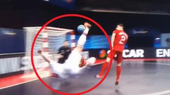 GOLAZO, GOLAZO, GOLAZO! Romania joaca maine impotriva marcatorului celui mai frumos gol de la Euro! VIDEO: