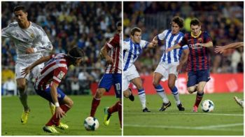 Copa del Rey | Norocul tine cu cei puternici! Trei autogoluri antologice in Real 3-0 Atletico si Barca 2-0 Sociedad! VIDEO