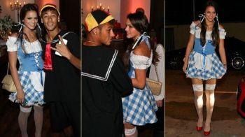 Ooops, i-a cazut prosopul :) Iubita lui Neymar, goala la TV! Ce scena a filmat Bruna Marquezine: VIDEO