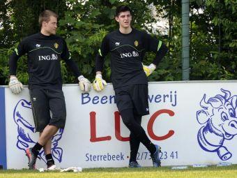 """SCANDAL la nationala Belgiei! """"Eu joc foarte bine, sa ramana modest si respectuos!"""" Ce s-a intamplat intre portarii selectionatei:"""