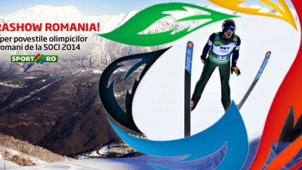 Momentul in care Romania reintra in istorie cu un COPIL. Cine este Iulian Pitea, cel mai tanar saritor cu schiurile de la SOCI 2014