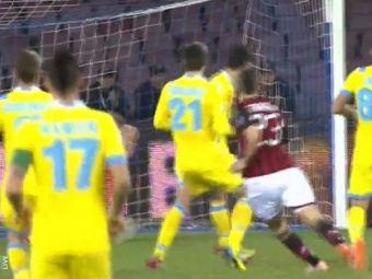 Omul comparat cu Zidane a marcat in minutul 8 la debutul pentru AC Milan. Executie superba, mingea a prins un efect incredibil VIDEO