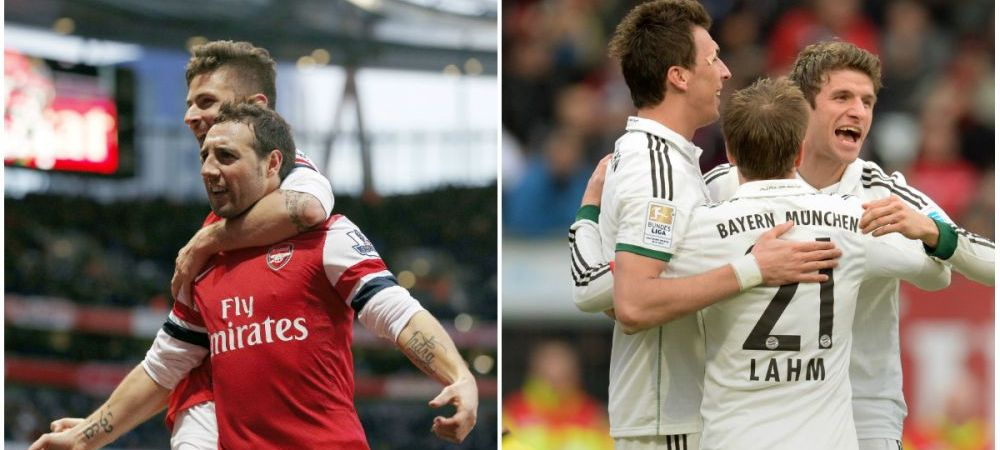 Arsenal vs Bayern   Bataie pe tiki-taka. Wenger si Guardiola, creatorii celor mai combinative echipe. ANALIZA