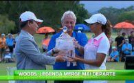 Talentul se mosteneste in sport! Nepoata celui mai cunoscut jucator din lume, Tiger Woods face si ea golf! VIDEO