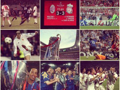 GALERIE FOTO | Cele mai tari imagini din finalele de Champions League