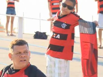 Timpul s-a oprit in loc pe Maracana! Fanii a doua echipe rivale s-au aliat in memoria lui Maicon! Clipe emotionante: VIDEO