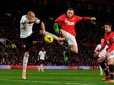 """Asta e campioana? Joaca ca o echipa din liga a cincea!"" United-ul lui Moyes, Rooney si Van Persie, luat in ras si de ultima clasata!"