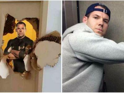 A spart usa dupa ce a ramas blocat in baie, la 3 zile distanta a patit-o din nou! Unde a fost blocat de aceasta data Johnny Quinn :)