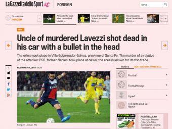 TRAGEDIE in familia unui jucator urias. Vestea ingrozitoare primita de Lavezzi in aceasta seara!