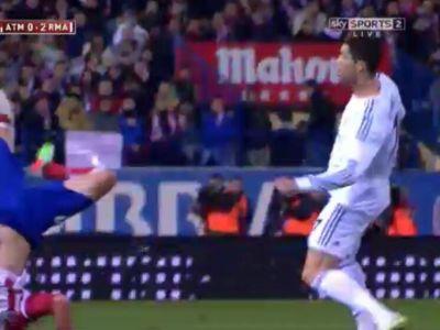Moment de panica in Cupa Spaniei! Ronaldo a sarit incredibil, adversarul a cazut groaznic in cap! Toata lumea s-a temut de ce e mai rau VIDEO