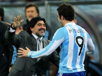 """""""Vreau sa iau Cupa Mondiala iar apoi titlul in Italia"""" Higuain vrea sa fie urmasul lui Maradona la Napoli"""