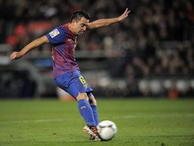 Xavi este cel mai bun pasator din Spania! Are aproape 100 de pase in fiecare meci, de doua ori mai multe decat Modric! Vezi TOP 10