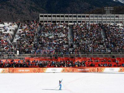 Asta e imaginea zilei la Sochi pentru americanii de la Time! Poza senzationala dupa un moment istoric la Jocurile Olimpice