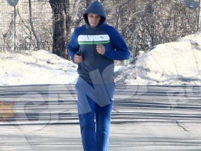 Dat afara de Reghe de la antrenamente, Mihai Costea a ajuns sa se antreneze prin parcuri! VIDEO
