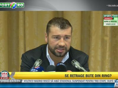 "Bute s-a intors in Romania. ""Vreau revansa cu Froch!"" Cand va putea sa se bata pentru centura"
