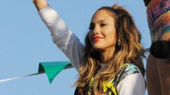 Jennifer Lopez si Pittbul au facut show in Brazilia! S-a filmat clipul pentru imul oficial! Primele imagini: VIDEO