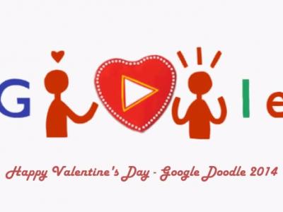 VALENTINE'S DAY. Google celebreaza Ziua Indragostitilor cu un Doodle special. Voi ce declaratii de dragoste aveti pentru sportivii favoriti?