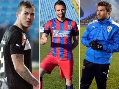 13 transferuri pentru TITLU! Cum si-au transformat Steaua, Astra si Petrolul echipele de start in aceasta iarna pentru unicul vis