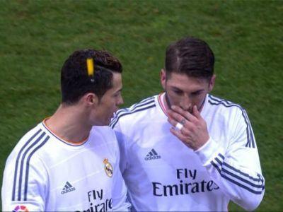 DECIZIE INCREDIBILA in Spania! Ce se intampla cu Atletico Madrid, dupa ce Cristiano Ronaldo a fost lovit cu o bricheta in cap