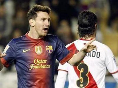 VallecaNO Razvan Rat! Romanul nu a fost in lotul lui Rayo pentru duelul cu Messi! Barcelona 6-0 Rayo! Messi l-a egalat pe Raul: 228 de goluri