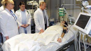 """Ore decisive pentru sportiva care si-a rupt coloana la Soci: """"Noaptea a trecut cu bine!"""" Vladimir Putin a vizitat-o la spital!"""