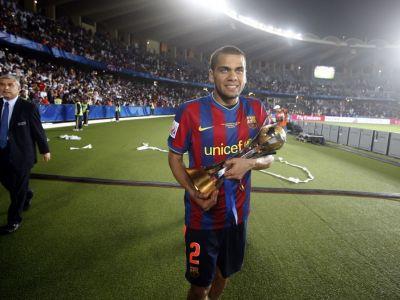 """""""City nu o sa fie NICIODATA Barcelona!"""" Extraterestrii Barcei, atac la milionarii arabi! Ce spune Dani Alves inaintea meciului de maine:"""