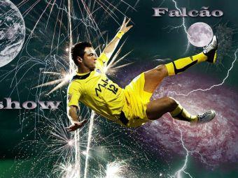 Driblingul de 13 mii de LIKE-uri facut de Falcao! Starul brazilian de la FUTSAL, schema formidabila! Cum si-a umilit un adversar: