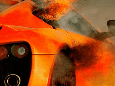 E atat de puternica incat a luat FOC la Top Gear! BOLIDUL imposibil de condus fabricat in Danemarca. FOTO