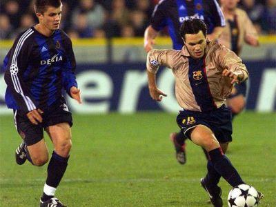Iniesta intra-n ISTORIE! Joaca meciul 100 impotriva lui Man City, maine seara! Vezi impotriva carui roman a debutat in 2002