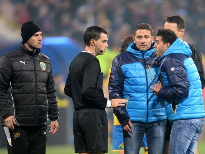 Arbitrul care a provocat un adevarat scandal ultima data in Ghencea, delegat la Steaua - U Cluj!