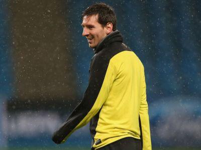 """Messi a 'inaugurat' noile ghete inaintea duelului cu City din Liga! Declaratie ciudata a lui Pellegrini inainte de meci: """"Exista doi de Messi"""""""