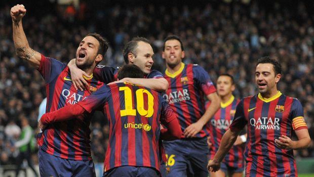 "Pellegrini a atacat dur arbitrajul de la City - Barca. Tata Martino: ""Rezultatul e just!"""