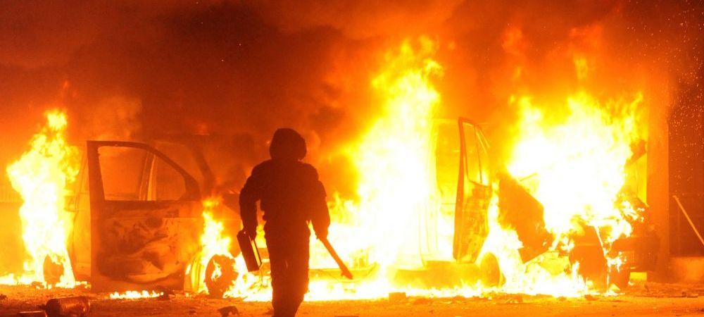 Tara din Europa unde fotbalul e ANULAT de razboiul civil! Decizia luata de UEFA, dupa ce zeci de oameni au murit in violentele de la Kiev