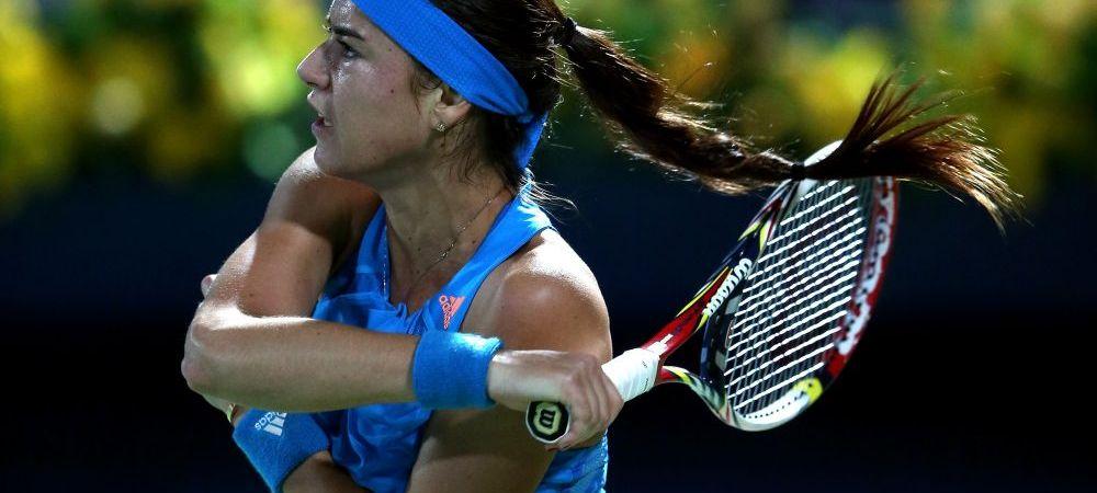 Sorana, pe urmele Simonei Halep! Sorana Cirstea s-a calificat in sferturi la Dubai, dupa 6-2, 5-7, 6-1 cu Sara Errani!