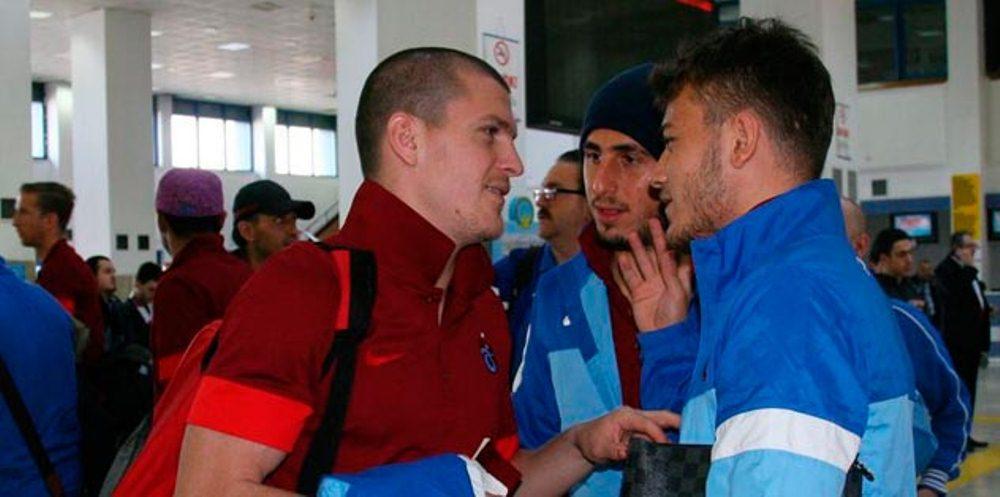 Alex Bourceanu, alaturi de delegatia lui Trabzon, la plecarea spre Torino