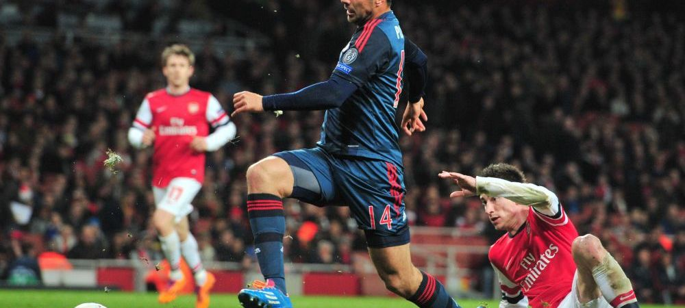 Arsenal si Man City au doar 2,35% sanse sa se califice in sferturi. Umilinta suferita de Wenger acasa cu Bayern