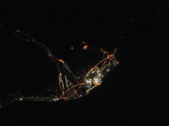 Imagini superbe suprinse din spatiul cosmic. Cum arata statiunea Sochi, in timpul Jocurilor Olimpice