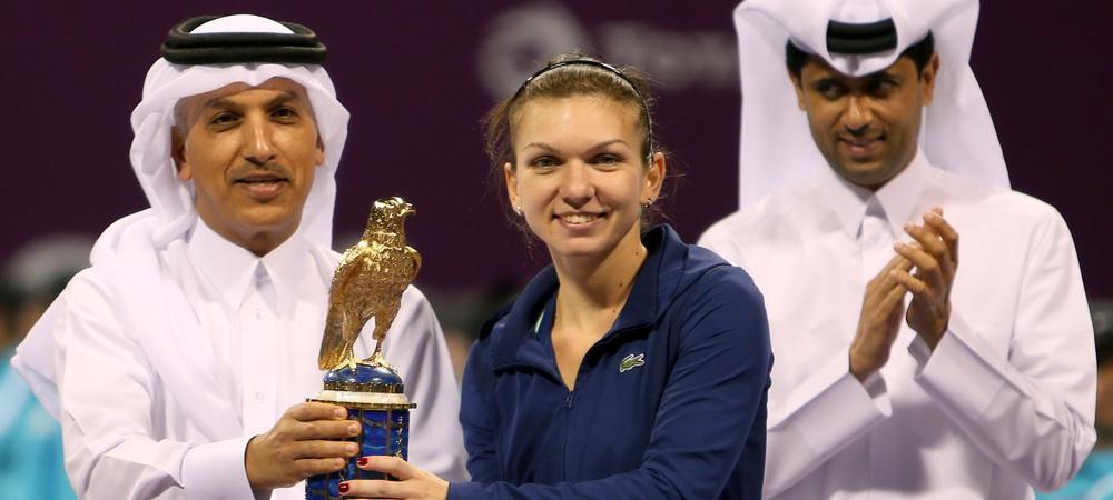 GOLD SIMONA   Performanta istorica pentru Halep, a egalat recordul Irinei Spirlea! De luni va fi noul numar 7 WTA