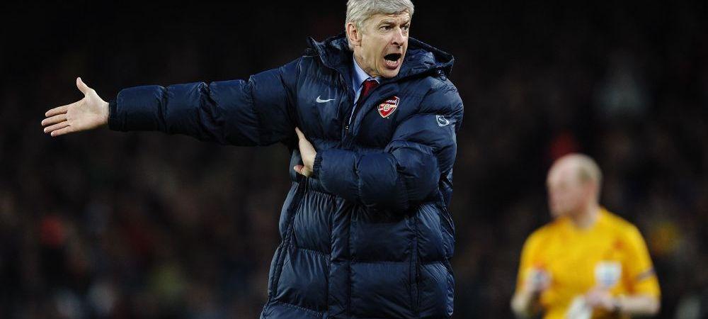 Record negativ pentru Wenger, dupa infrangerea cu Bayern! Francezul a reclamat arbitrajul, Arsenal are un eliminat la zece meciuri!