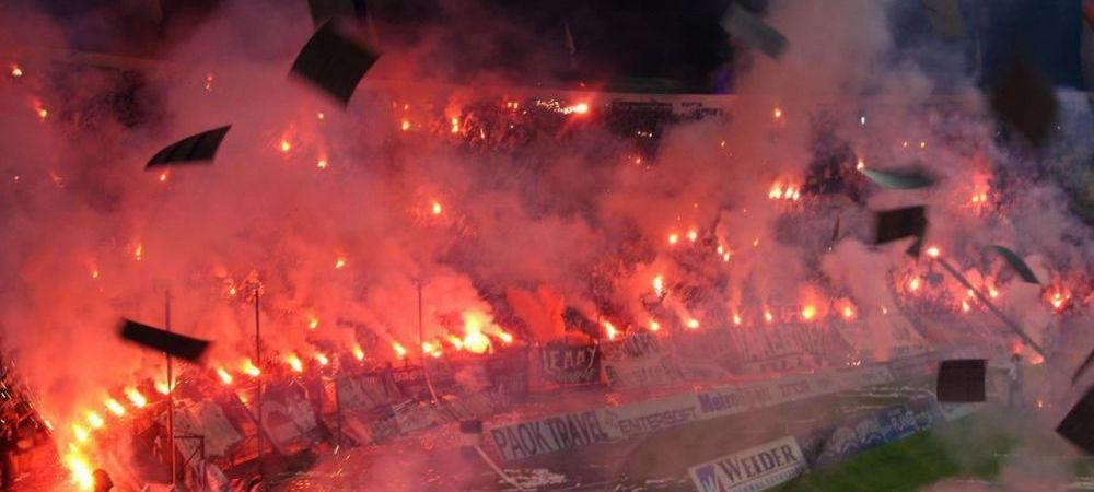 ISTORIE in fata lui Costin Lazar! Faza pe care fanii lui PAOK au pregatit-o de saptamani bune! Ce au facut la meciul cu Benfica: