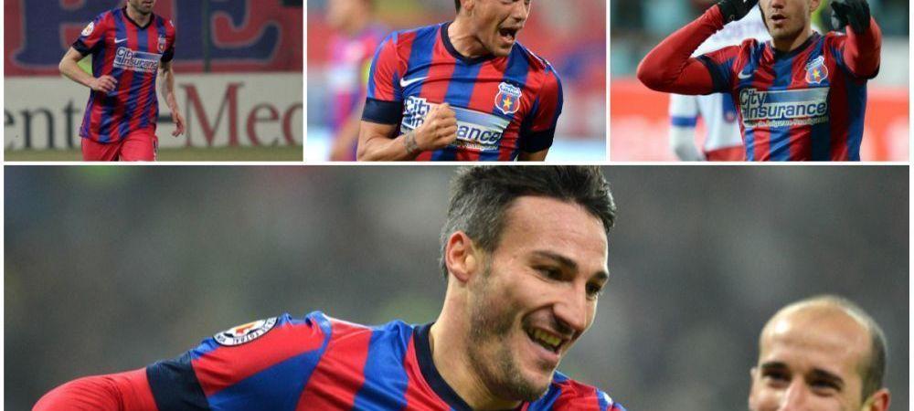 Atac LETAL pentru titlul 25! Fanii Stelei au decis cum trebuie sa arate ofensiva Stelei! Varianta propusa pentru meciul cu Dinamo: