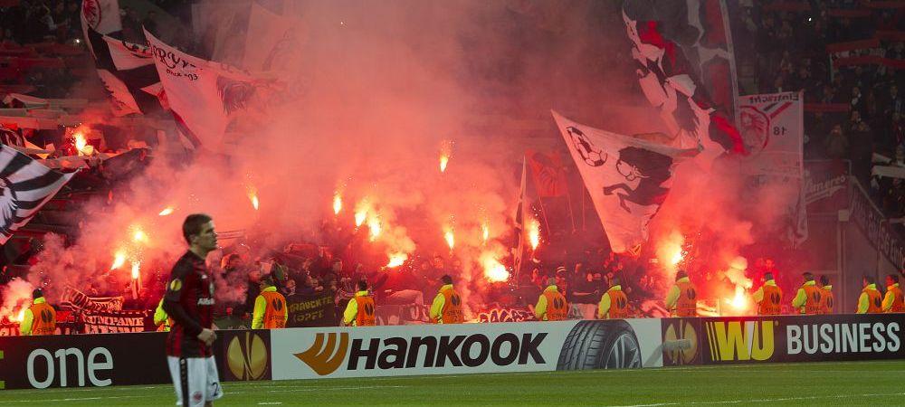 Fanii care au uimit o lume intreaga. Peste 7000 de suporteri au blocat o AUTOSTRADA. Momente superbe aseara in Europa League