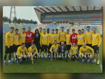 Surpriza in Ghencea! Aparitia superba pentru jucatorii Stelei! Cine a venit sa-i incurajeze pentru derbyul cu Dinamo