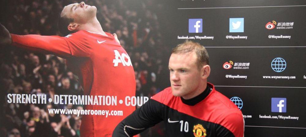 """Recordul istoric pe care Rooney vrea sa-l bata dupa ce a semnat pentru 100 de mil euro cu United: """"Este o noua era la Manchester!"""""""