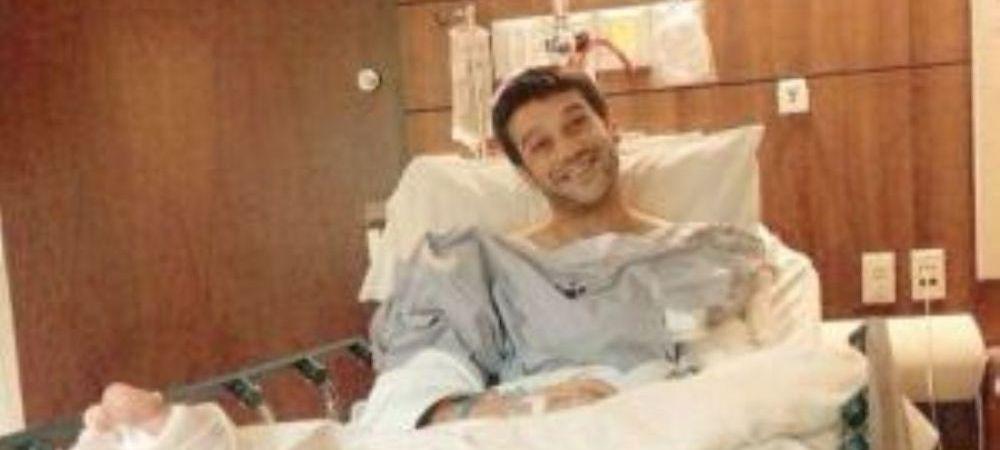 """""""Operatia lui Chivu la picior a fost un SUCCES!"""" Prima imagine cu el pe patul de spital"""
