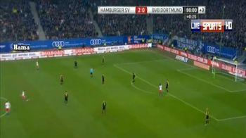 ASTA e golul anului 2014! BOMBA supersonica, Dortmund a fost distrusa la Hamburg! Executia asta intra in topul ISTORIC al loviturilor libere