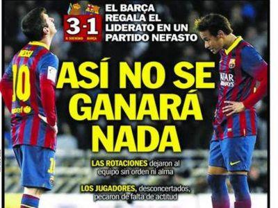 Gest scandalos la Barcelona. Atacul incredibil care nu s-a vazut la TV! Ce s-a intamplat